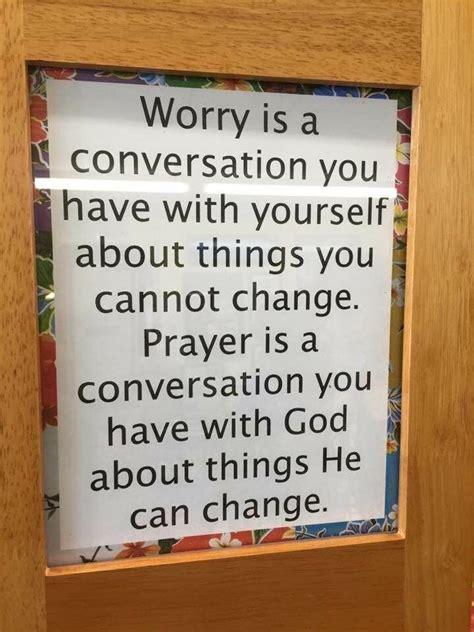 worry   conversation