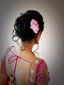 25 best Wedding/Reception hairstyles images on Pinterest Wedding reception hairstyles, Indian