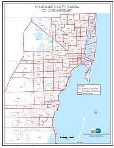 Miami Zip Code Map