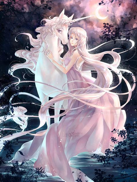 anime unicorn art the last unicorn movie quotes quotesgram