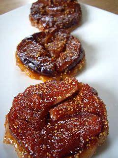 tarte tatin aux figues fraiches  au caramel balsamique