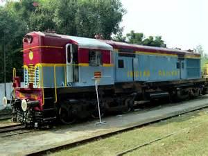 Diesel Train Engines in India
