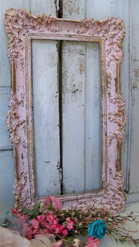 how to paint a mirror frame shabby chic 30 models vintage frame for your mirror one decor