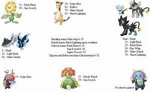 New Light Moves for Original Pokemon