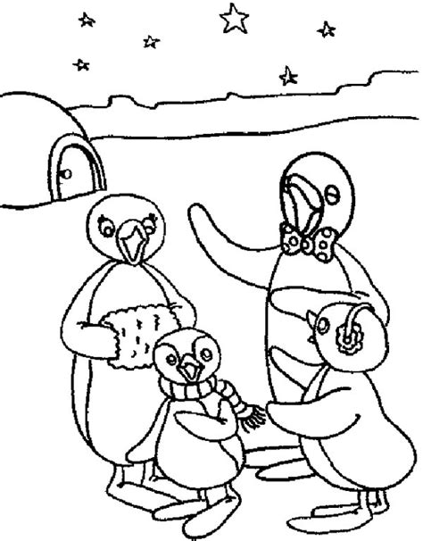 Pingu - Free Colouring Pages