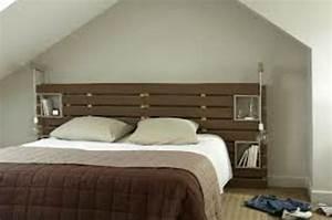 Dressing 2 Personnes : deco palette tete de lit ~ Melissatoandfro.com Idées de Décoration