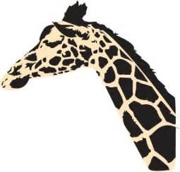 Giraffe Head Stencils Printable