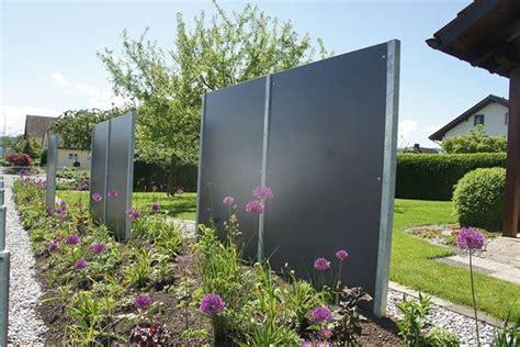Sichtschutz Garten Design by Sichtschutzwand Sichtschutzw 228 Nde Sichtschutz