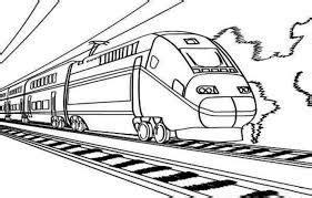 Coloring Kereta Api by Hasil Gambar Untuk Mewarnai Alat Transportasi Kereta Api