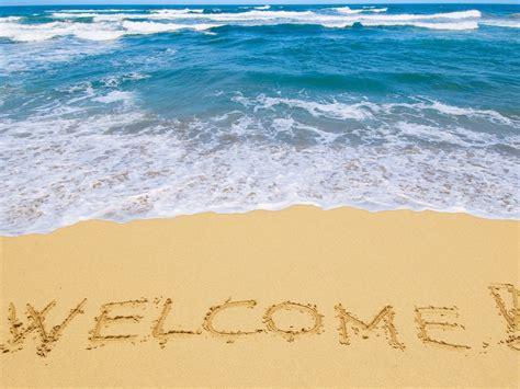 Summer Desktop Backgrounds Hd 壁纸 欢迎来到海滩 2560x1600 Hd 高清壁纸 图片 照片