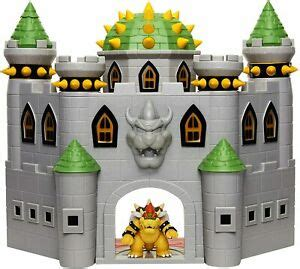 Playset Toy Nintendo Bowsers Castle Super Mario Deluxe ...
