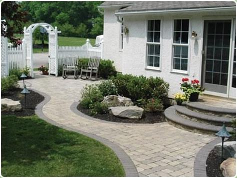 front yard walkway 1000 images about front yard landscaping ideas on