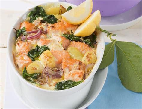 pates aux epinards et saumon recette de gratin au saumon