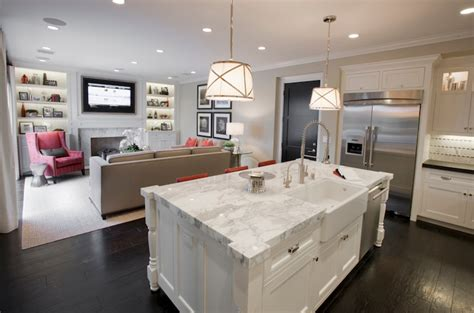 kitchen living room layout small open kitchen dining room combination designs furnitureteams com