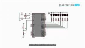 Led Interfacing With 8051 Microcontroller