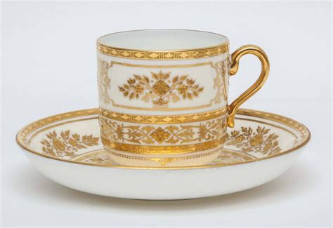 12 Sets Of Minton For Tiffany Elaborate Gilded Coffee Cup Cold Brewed Coffee Caffeine Content Brew Dispenser Prince Lab Upset Stomach Zagreb George Bc Quebec Filming Locations