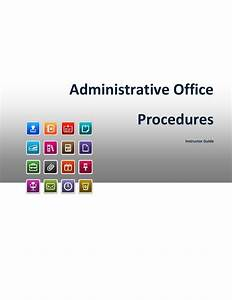 Administrative Office Procedures Sample Manual By