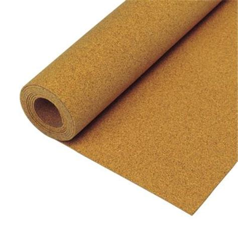 cork board wall tiles home depot qep 200 sq ft 1 4 in cork underlayment roll 72000q