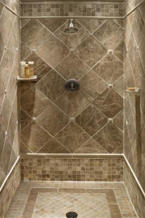 tiled shower stalls create distinctive and stylish shower