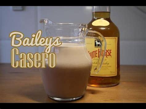 como hacer baileys en casa crema de whisky youtube