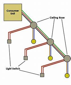 Electrical Light Circuit Diagram