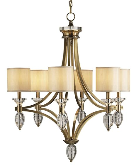 currey and company 9081 sebastian six light chandelier