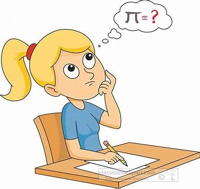 Thinking Clipart Math Problem Solve Mathematics Though