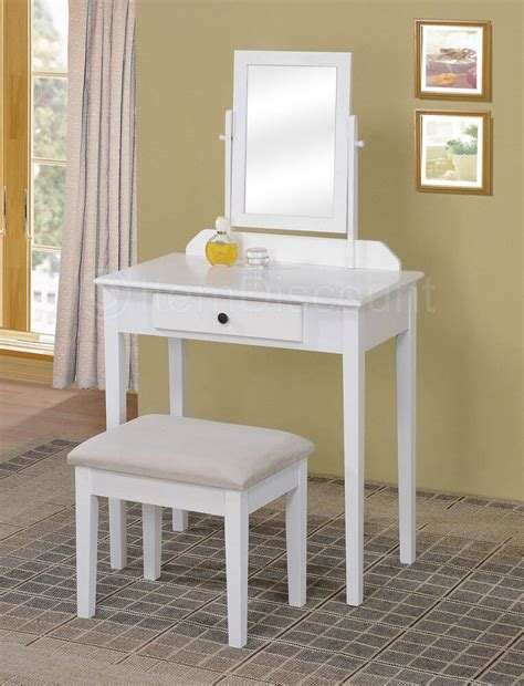 Small White Vanity by Contemporary White Bedroom Vanity Set Table Drawer Bench