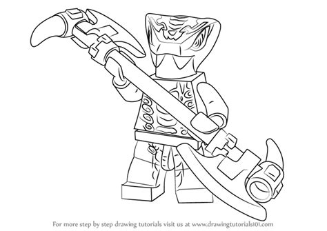 learn   draw mezmo  ninjago ninjago step