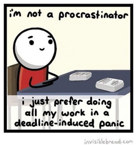 Procrastination Memes - 11 things college freshmen should know