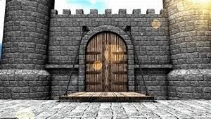 Medieval Castle Drawbridge. Stock Footage Video 2527739 ...