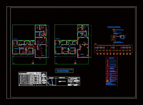 house plan electrical room  autocad cad  kb