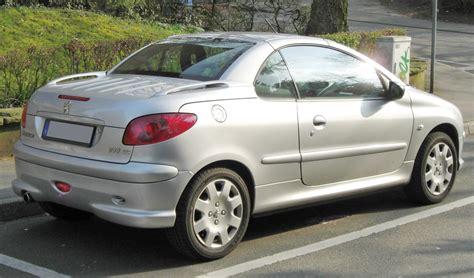peugeot 206cc images file peugeot 206cc facelift rear jpg