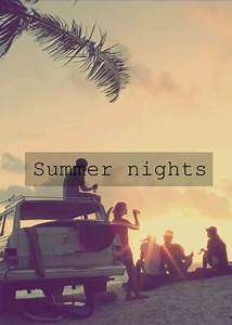 sweet couple on... Hot Summer Night Quotes