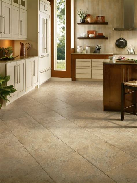 armstrong flooring lvt armstrong luxury vinyl tile lvt beige stone look diagonal installation kitchen dining