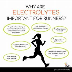 Electrolytes For Runners  The True Facts