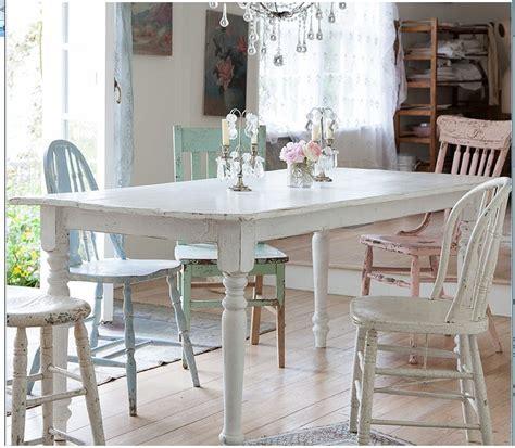 Shabby Chic Kitchen Table  Kitchen Options  Pinterest