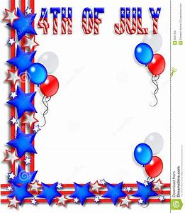 Fourth Of July Border | Free download on ClipArtMag