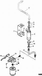 Fuel Pump And Fuel Filter For Mercruiser 4 3l  4 3lx Alpha