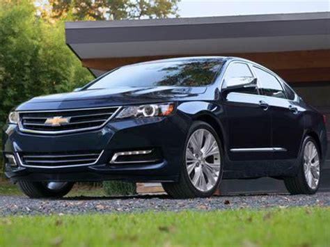 chevrolet impala pricing ratings reviews