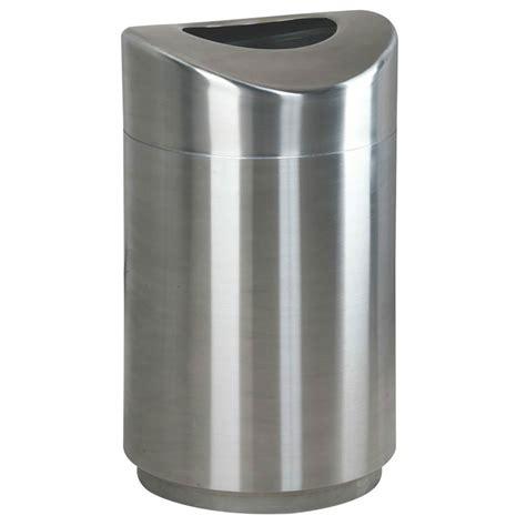 designer trash can rubbermaid fgr2030sspl 30 gal indoor decorative trash can