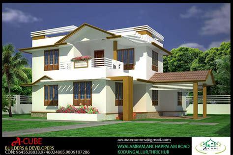 Kerala Home Plans With Estimate  Joy Studio Design
