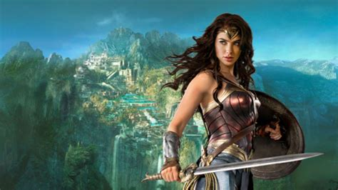 wonder woman concept themyscira movie