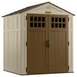 suncast sierra 174 6 ft x 5 ft resin storage shed lowe s canada