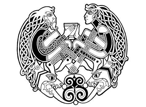 Celtic Art 65 Celtic Art Adult Coloring Pages Page 4