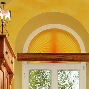 Plissee Für Große Fenster : plissee rollos f r rundbogenfenster ~ Markanthonyermac.com Haus und Dekorationen