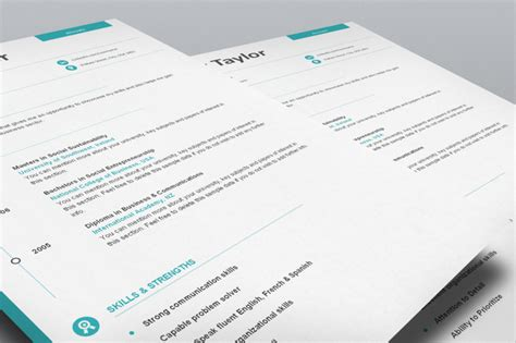 chronological resume template flat 50 use coupon