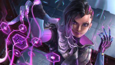 Sombra Overwatch Artwork 5k Wallpapers Hd Wallpapers