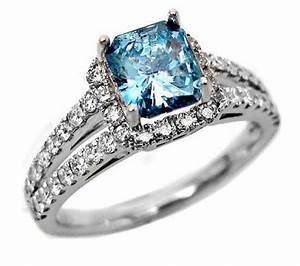 engagement rings with blue diamonds wwwimgkidcom the With wedding rings with blue