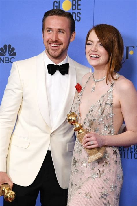 Golden Globes What Did Land Win Emma Watson